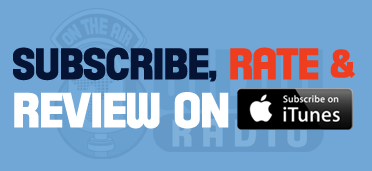Subscribe, Rate and Review on iTunes