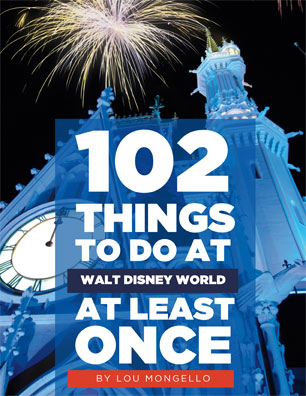 new book 102 things to do at walt disney world at least once