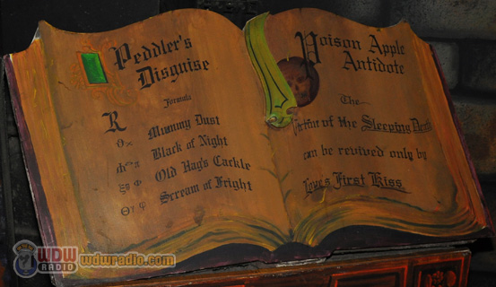 Snow White's Scary Adventures Spell Book