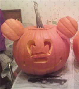 disney pumpkin
