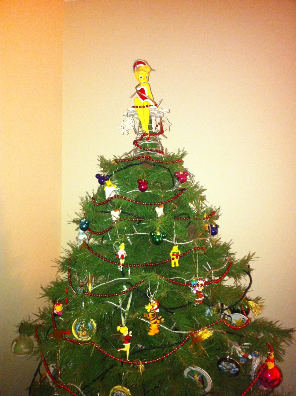 Our Christmas Tree Quot Went Disney Quot Vote Now Wdw Radio