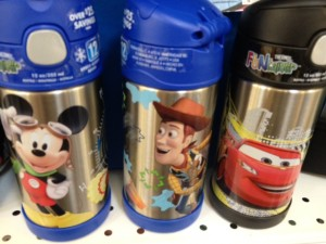 Disney-themed thermos