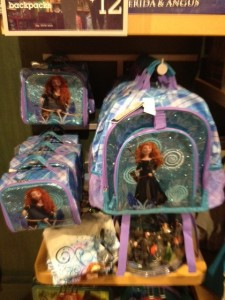 Rapunzel backpack, lunch box, and pencil case