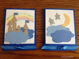 WDW Radio Dream Team Project Auction 2012 Stylized Logo Note Cards FC