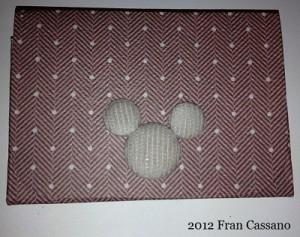 15 C FC WDW Radio Stylish Mickey Gift Card Wallet