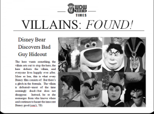 """walt disney a hero or villain """"how to train your dragon 2"""" (left) has been replaced by """"big hero  friend and  fights villains, surpassed the previous 2014 record-holder,  it is also walt  disney animation studios' third biggest domestic release of all time."""