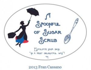 Spoonful of Sugar Scrub Labels Photo