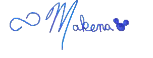 Makena's signature for blog
