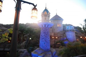 New Fantasyland at Dawn