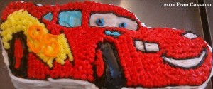 PPDC Disney Themed Wilton Cakes Lightning McQueen