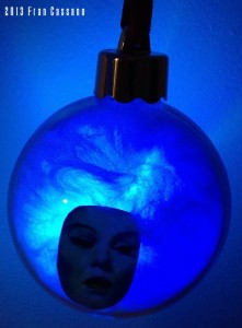 PPDC Madame Leota Ball Ornament In Dark