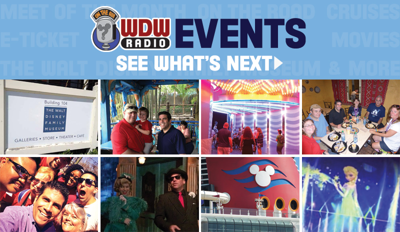 WDW Radio Events
