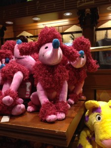 French Poodle plush