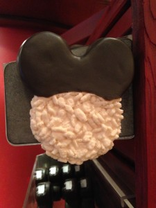 Mickey rice crispy treat magnet