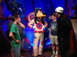Goofy at Pete's Silly Sideshow