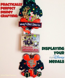 Displaying Your runDisney Medals