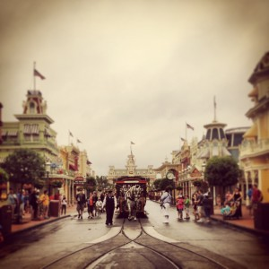Main Street, U.S.A -- morning