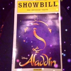 Aladdin Playbill