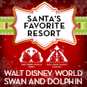 Swan and Dolphin Santa's Favorite Resort 2014
