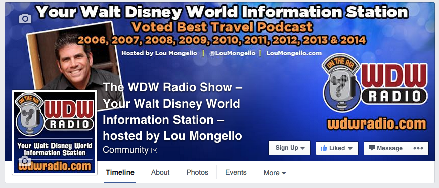 wdw radio facebook page