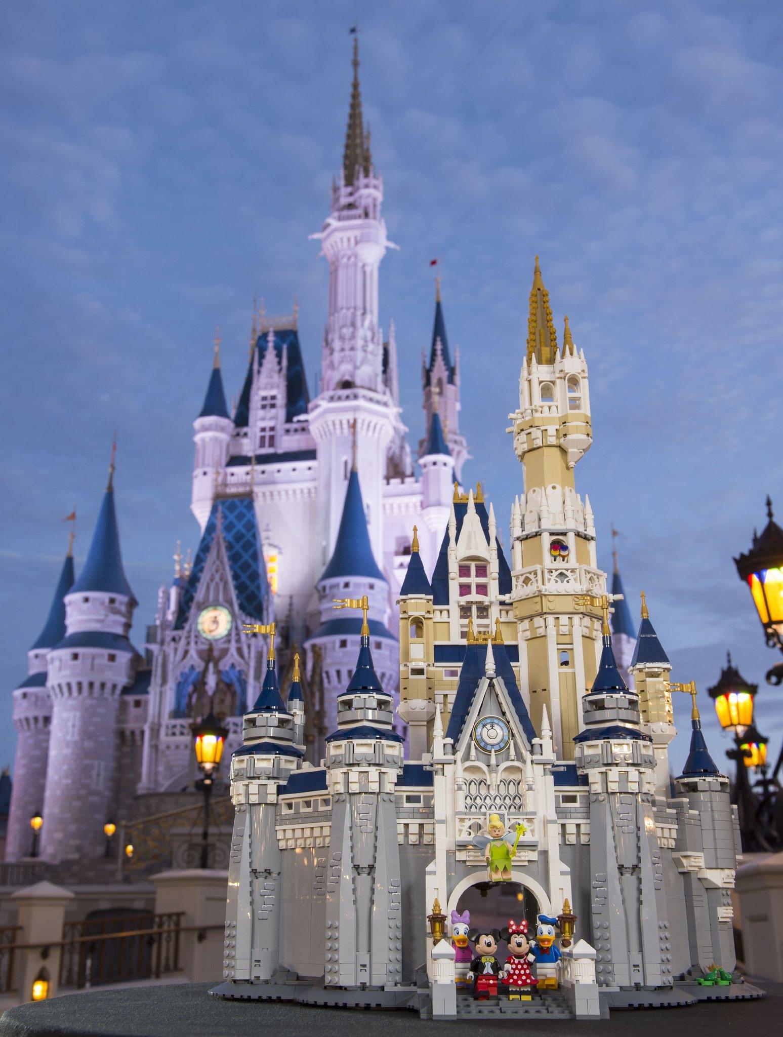 Lego Disney Castle Coming This Septemberwdw Radio