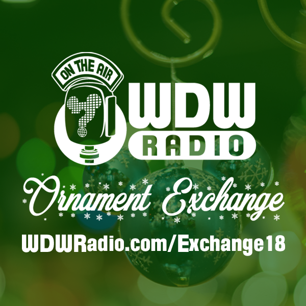 It's Time for the WDW Radio Ornament Exchange!